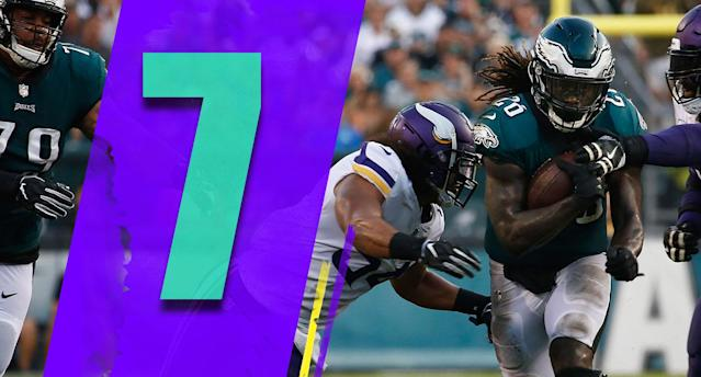 <p>Jay Ajayi's torn ACL doesn't help the Eagles, but you'd think they have the depth at that position to overcome it. If Corey Clement can stay healthy, he has a real chance to become a breakout star. Or … Le'Veon Bell? (Jay Ajayi) </p>