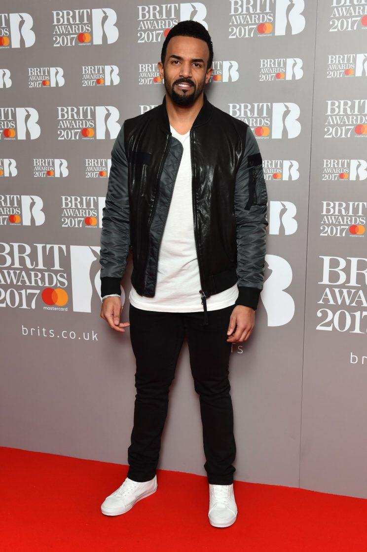 Craig David is up for Best British Solo Male [PA]