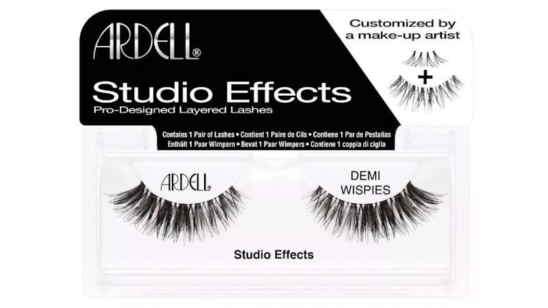 When you want to feel extra glam, try a pair of the Ardell Eyelash Demi Wispies Studio Effects.