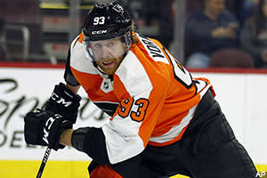 Daniel E. Dobish takes a look back at Wednesday's short slate in the NHL, including Jakub Voracek's career night and a Stanley Cup rematch in D.C
