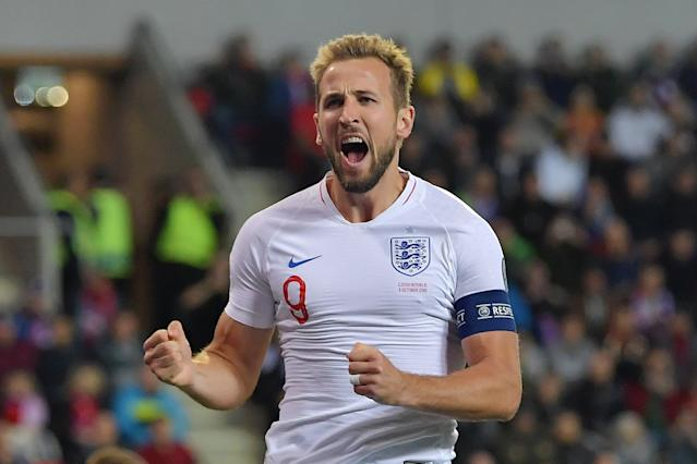 Kane's opener was his 7th goal in five qualifiers (Photo by Justin Setterfield/Getty Images)