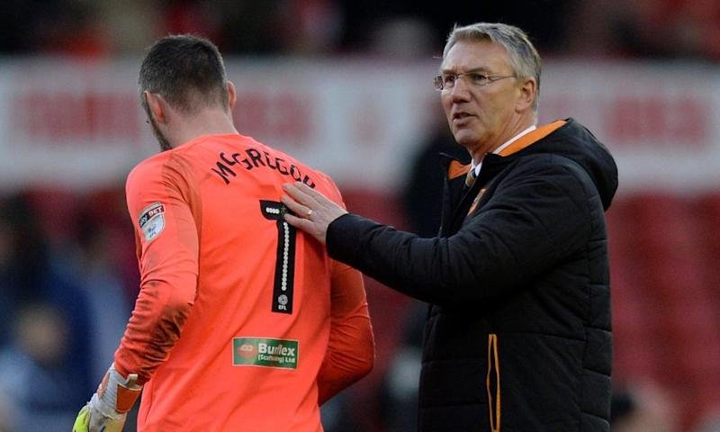 Nigel Adkins in February 2018, during his time as Hull's manager.