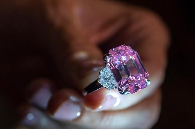 Christie's to auction pink diamond that could fetch $50M