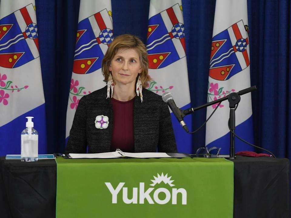 The Yukon's acting chief medical officer of health, Dr. Catherine Elliott, reported six new cases of COVID-19 in the territory since yesterday and issued one public exposure notice. (Jackie Hong/CBC - image credit)