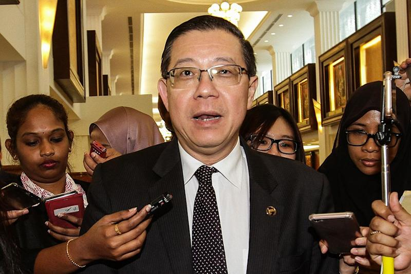 Finance Minister Lim Guan Eng says the government will allow with outstanding tax refunds from Inland Revenue Board to offset the amount against the tax payable for the current year. — Picture by Miera Zulyana