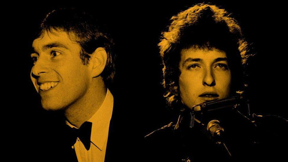 Prince Andrew y Bob Dylan