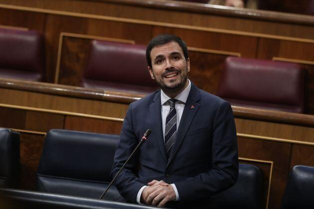Alberto Garzón en el Congreso. (Photo: GTRES)