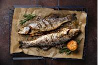 """<p>Have a family member on a <a href=""""https://www.thedailymeal.com/best-recipes/24-foolproof-seafood-recipes-anyone-can-cook-slideshow?referrer=yahoo&category=beauty_food&include_utm=1&utm_medium=referral&utm_source=yahoo&utm_campaign=feed"""" rel=""""nofollow noopener"""" target=""""_blank"""" data-ylk=""""slk:pescatarian"""" class=""""link rapid-noclick-resp"""">pescatarian</a> diet? Give them this <a href=""""https://www.amazon.com/AIGMM-Portable-Stainless-Barbecue-Vegetables/dp/B072JCWQ4H/?referrer=yahoo&category=beauty_food&include_utm=1&utm_medium=referral&utm_source=yahoo&utm_campaign=feed"""" rel=""""nofollow noopener"""" target=""""_blank"""" data-ylk=""""slk:grill basket"""" class=""""link rapid-noclick-resp"""">grill basket</a> that makes it easier to flip and evenly cook seafood on the grill.</p>"""