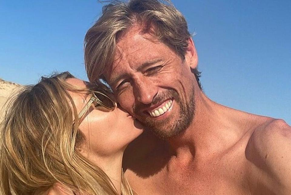Abbey Clancy and husband  Peter Crouch  (Abbey Clancy/Instagram)