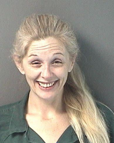 Adriana Caprice, 39, arrested for an outsanding out-of-county warrant.