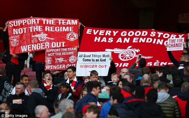 When they lose: Wenger out
