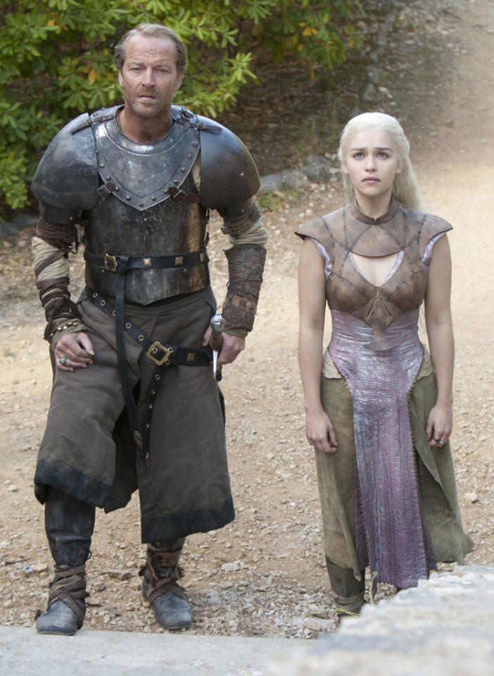 """<p><b>""""Game of Thrones""""</b><br><br> </p><p><b>What: </b>HBO's fantasy epic just came off a stellar second season, so expect cast members Kit Harington, Lena Headey, and Emilia Clarke (no Peter Dinklage, though, sob) and franchise creator George R.R. Martin to be greeted as conquering heroes by the Hall H hordes.<br> <b><br>When:</b> Friday, 2:45pm; Hall H<br> <b><br>Appropriate Wait Time:</b> Two hours. Dinklage's presence would have bumped it up to three, but the sheer awesomeness of """"Game of Thrones"""" remains something worth celebrating.</p>"""