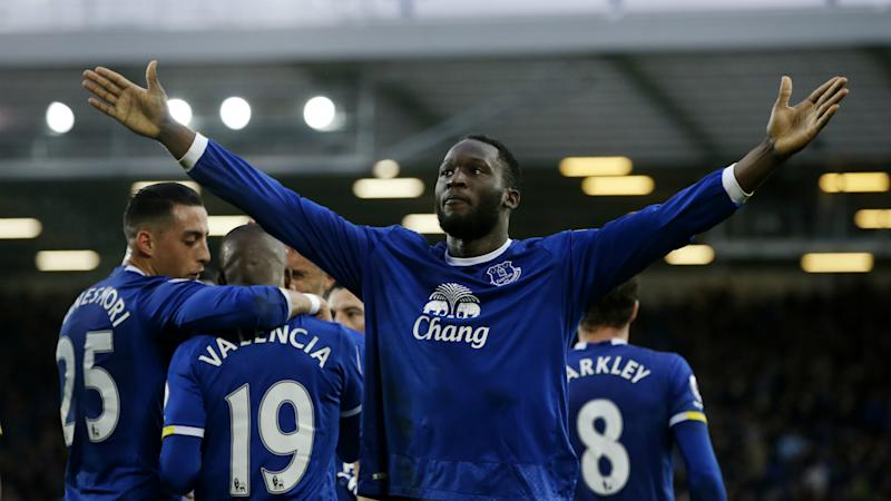 Romelu Lukaku, Everton, Premier League, 03182017