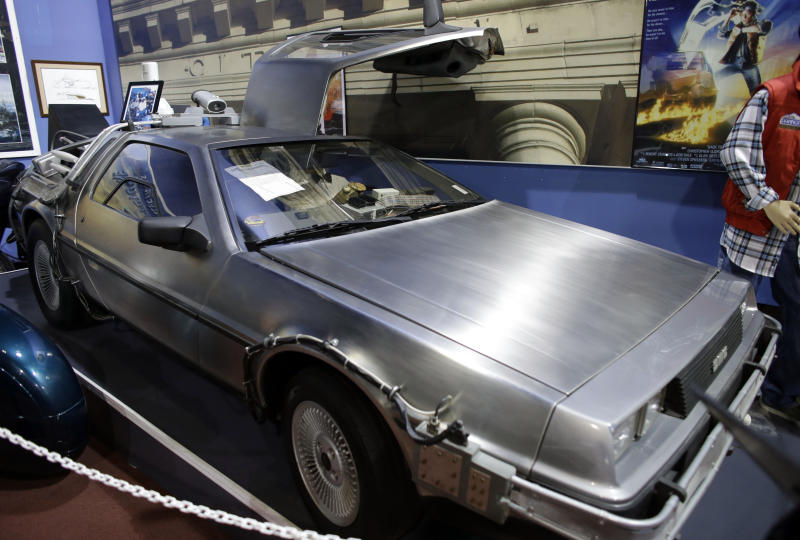 DeLorean widow sues for 'Back to the Future' payments