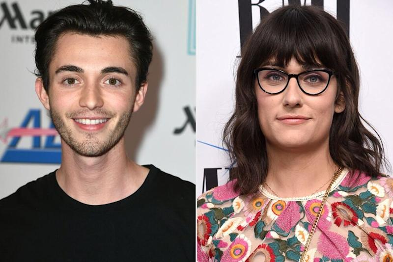 Greyson Chance and Teddy Geiger | Kevin Winter/Getty; Michael Kovac/Getty