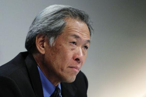 Defence Minister Ng Eng Hen addressed Parliament on 9 January. Photo: International Business Times