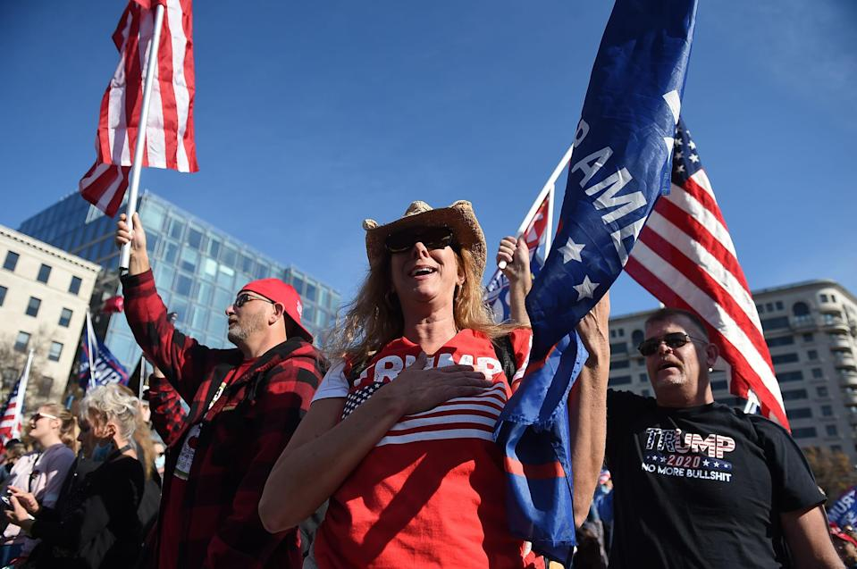 Image: US-politics-vote-RALLY (Olivier Douliery / AFP - Getty Images)