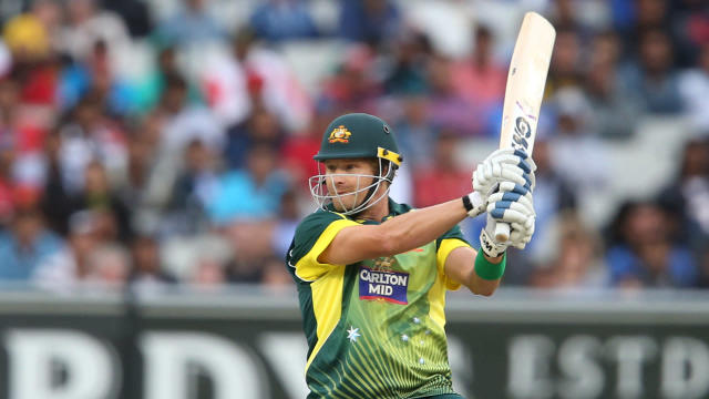 Australia will resist the temptation to rush Shane Watson back for Sunday's Tri-Nations final.