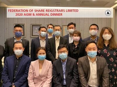 Second left from the first row: Catharine Wong, Managing Director – Head of Share Registry & Issuer Services