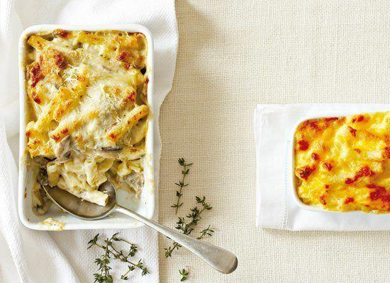 """<strong>Get the <a href=""""http://www.huffingtonpost.com/2011/10/27/basic-macaroni-cheese_n_1057575.html"""" target=""""_hplink"""">Basic Macaroni Cheese recipe</a> from TASTE</strong>"""