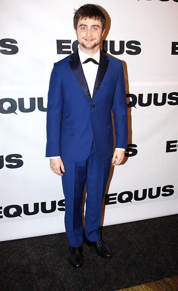 """Daniel Radcliffe may have had opening night jitters, but the """"Harry Potter"""" star received rave reviews for his Broadway debut in """"Equus."""" Bruce Glikas/<a href=""""http://filmmagic.com/"""" target=""""new"""">FilmMagic.com</a> - September 25, 2008"""
