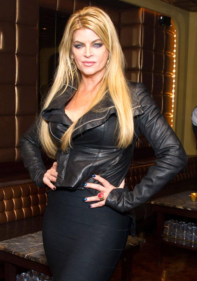 Kirstie Alley turns 61 on January 12.