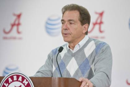 Will Nick Saban's Crimson Tide be a national title contender this season? (AP)