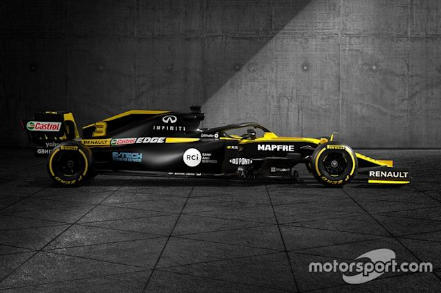 """Renault F1 Team R.S.20 livery <span class=""""copyright"""">Renault </span>"""