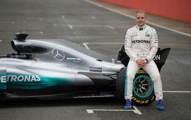 <span>Valtteri Bottas was hired on a one-season contract as a late replacement for the retiring world champion Nico Rosberg</span> <span>Credit: OLI SCARFF/AFP/Getty </span>