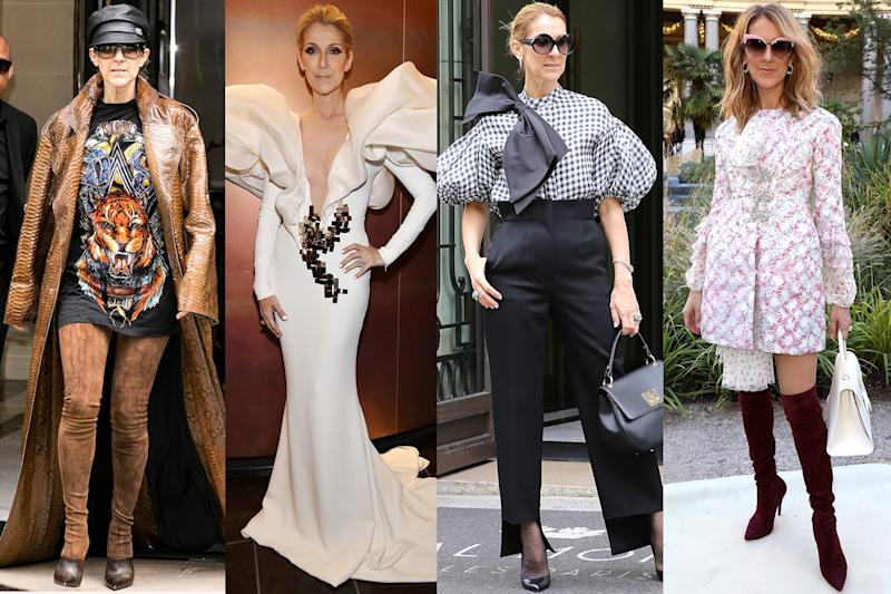 How Céline Dion Became a Fashion Icon at 49