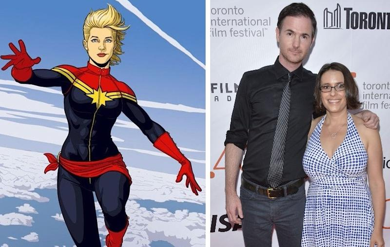 Anna Boden and Ryan Fleck announced as directors of 'Captain Marvel' (credit: Marvel Comics/WENN)