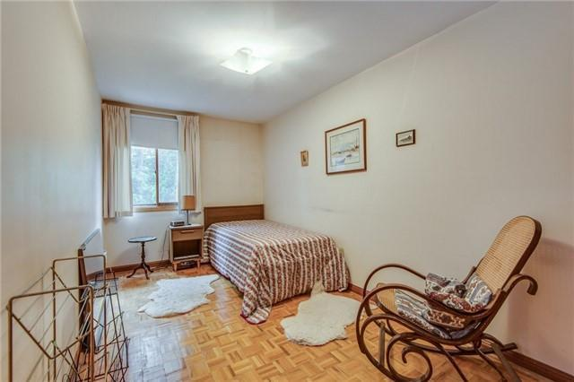 <p><span>22 Albertus Ave., Toronto, Ont.</span><br> There are three bedrooms, and the master even has a Juliette balcony.<br> (Photo: Zoocasa) </p>