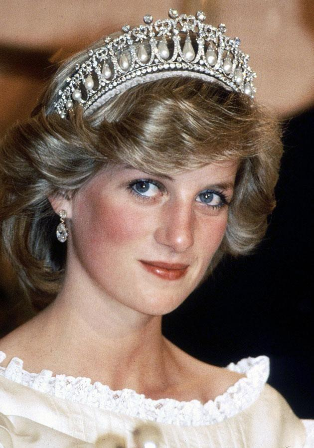 The tiara used to belong to Diana. Photo: Getty Images