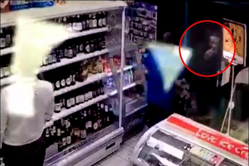 Rashan Charles was seen on CCTV apparently swallowin an object shortly before he died