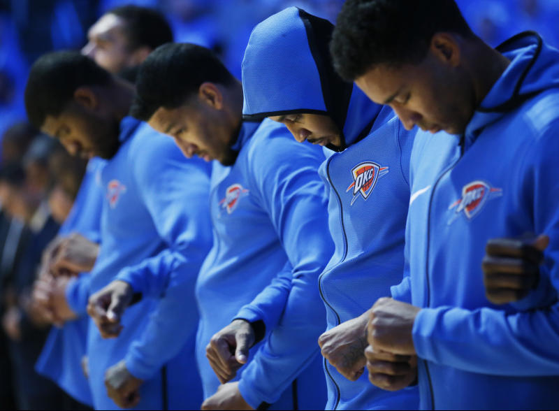 Discourse over national anthem looms for NBA, other leagues