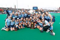 Best sport: field hockey (national champion). Trajectory: steady. The Tar Heels have finished in the Top Ten four times in the last five years, powered by a number of traditionally strong programs. They were a field hockey juggernaut this year, not only going 26-0 but rarely being challenged — only three games were decided by one goal. The Heels also had big seasons in women's soccer, women's lacrosse and both men's and women's tennis. Football has underperformed.