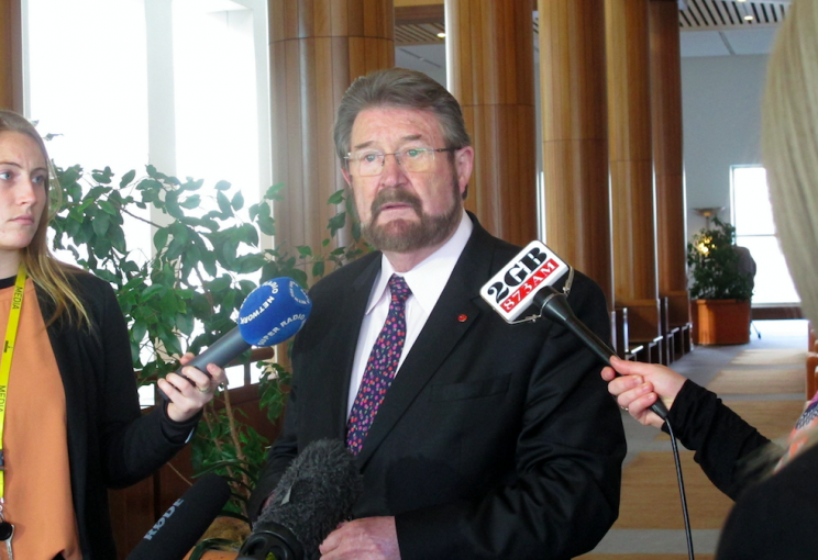 Independent senator Derryn Hinch took credit for the new initiative (PA)
