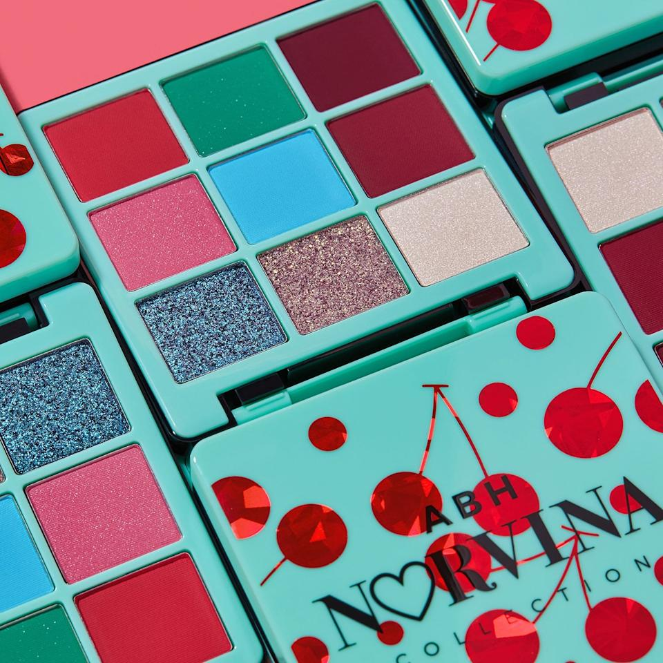 """<p>This cheery, cherry-inspired <a href=""""https://www.popsugar.com/buy/Anastasia-Beverly-Hills-Norvina-Mini-Pro-Pigment-Palette-Vol-3-555737?p_name=Anastasia%20Beverly%20Hills%20Norvina%20Mini%20Pro%20Pigment%20Palette%20Vol.%203&retailer=sephora.com&pid=555737&price=29&evar1=bella%3Aus&evar9=47297544&evar98=https%3A%2F%2Fwww.popsugar.com%2Fbeauty%2Fphoto-gallery%2F47297544%2Fimage%2F47297567%2FAnastasia-Beverly-Hills-Norvina-Mini-Pro-Pigment-Palette-Vol-3&list1=makeup%2Csephora%2Cspring%20beauty&prop13=api&pdata=1"""" rel=""""nofollow"""" data-shoppable-link=""""1"""" target=""""_blank"""" class=""""ga-track"""" data-ga-category=""""Related"""" data-ga-label=""""http://www.sephora.com/product/anastasia-beverly-hills-norvina-mini-pro-pigment-palette-vol-3-P454992"""" data-ga-action=""""In-Line Links"""">Anastasia Beverly Hills Norvina Mini Pro Pigment Palette Vol. 3</a> ($29) features nine matte and metallic shadows to welcome in Spring. The berry tones (alongside complementary bold colors and glitters) can all come together in enough creative ways to last you well through Summer.</p>"""