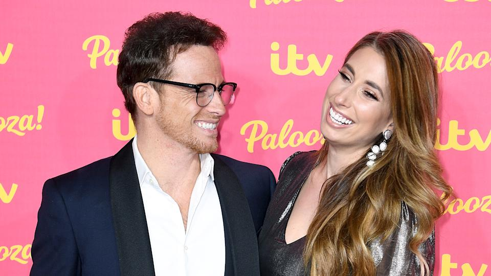 Stacey Solomon and Joe Swash have postponed their wedding. (PA)