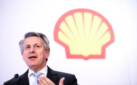 Ben Van Beurden, chief executive of Shell - Credit: Chris Ratcliffe/Bloomberg