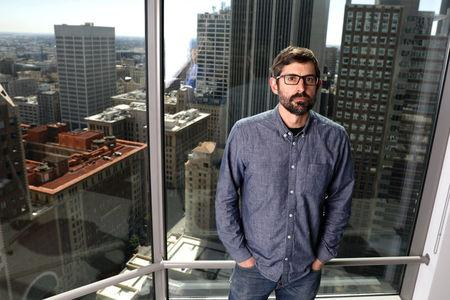 Louis Theroux poses for a portrait in Los Angeles