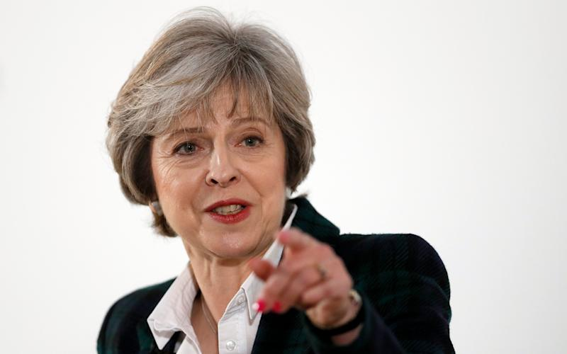 Mrs May has said no deal is better than a bad deal - AP Photo/Kirsty Wigglesworth, pool