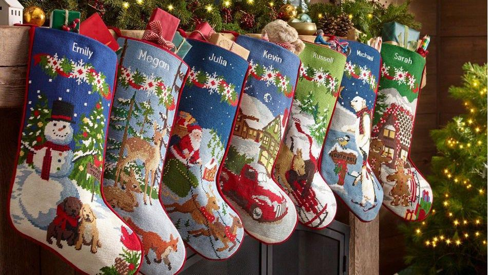 These stockings are a heartwarming way to build family traditions.
