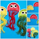 """<p>Kids can put together these adorable aquatic creatures with the help of paper plates, yarn, tissue paper, and googly eyes. </p><p><strong><em><a href=""""https://nontoygifts.com/paper-plate-jellyfish-craft-kids/"""" rel=""""nofollow noopener"""" target=""""_blank"""" data-ylk=""""slk:Get the tutorial at Non-Toy Gifts"""" class=""""link rapid-noclick-resp"""">Get the tutorial at Non-Toy Gifts</a>. </em></strong></p><p><a class=""""link rapid-noclick-resp"""" href=""""https://www.amazon.com/Mira-Handcrafts-Acrylic-Yarn-Bonbons/dp/B07B7M5RBW?tag=syn-yahoo-20&ascsubtag=%5Bartid%7C10070.g.37055924%5Bsrc%7Cyahoo-us"""" rel=""""nofollow noopener"""" target=""""_blank"""" data-ylk=""""slk:SHOP YARN"""">SHOP YARN</a></p>"""