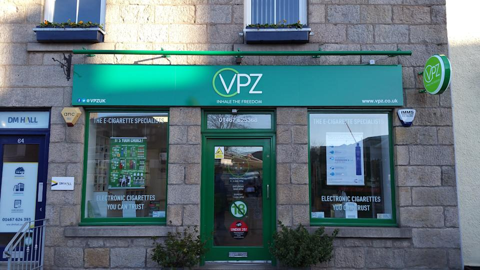 The UK's biggest vaping retailer, VPZ, has attacked government cuts to smoking support services and said it is investing help address the issue (PA)