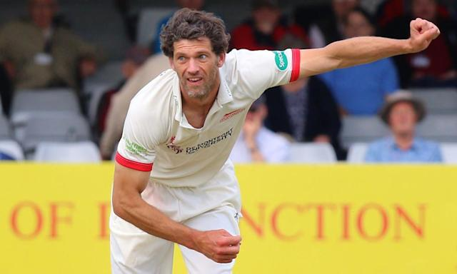 "<span class=""element-image__caption"">Leicestershire's punishment relates to an incident involving bowler Charlie Shreck.</span> <span class=""element-image__credit"">Photograph: TGSPhoto/Rex/Shutterstock</span>"