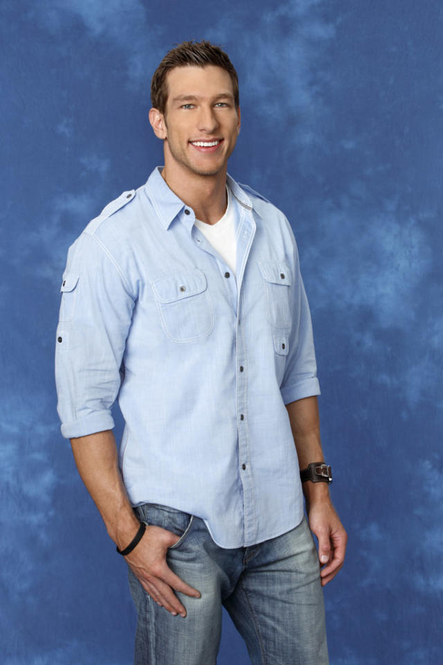 "Jackson, 29, a fitness model from Lockport, IL is featured on the eighth edition of ""<a href=""http://tv.yahoo.com/bachelorette/show/34988"">The Bachelorette</a>."""