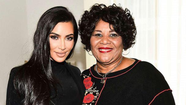 PHOTO: Kim Kardashian and Alice Marie Johnson at Variety and Rolling Stone's Criminal Justice Summit at the Jeremy Hotel in West Hollywood, Calif., Nov. 14, 2018. (Michael Buckner/Variety/Shutterstock)