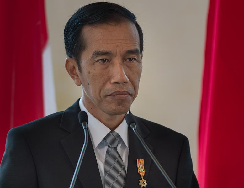 Indonesia's President Joko Widodo, pictured during a visit to Malaysia, on February 6, 2015 (AFP Photo/Mohd Rasfan)