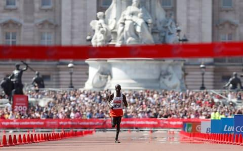Kipchoge wins race - Credit: REUTERS
